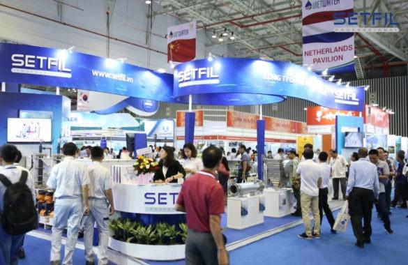Triễn Lãm Quốc Tế VIETWATER 2018 - SETFIL