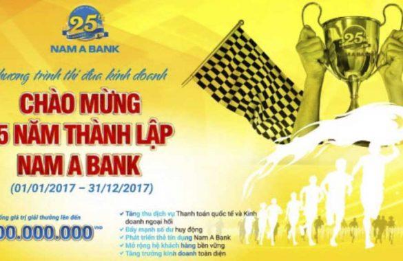 25 năm thành lập Nam A Bank